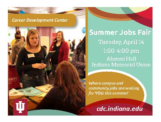 2015 IU Summer Jobs Fair