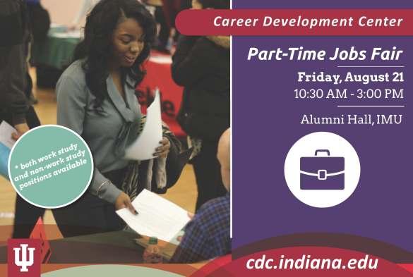 Fall Part Time Jobs Fair