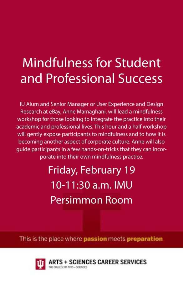 Mindfulness poster